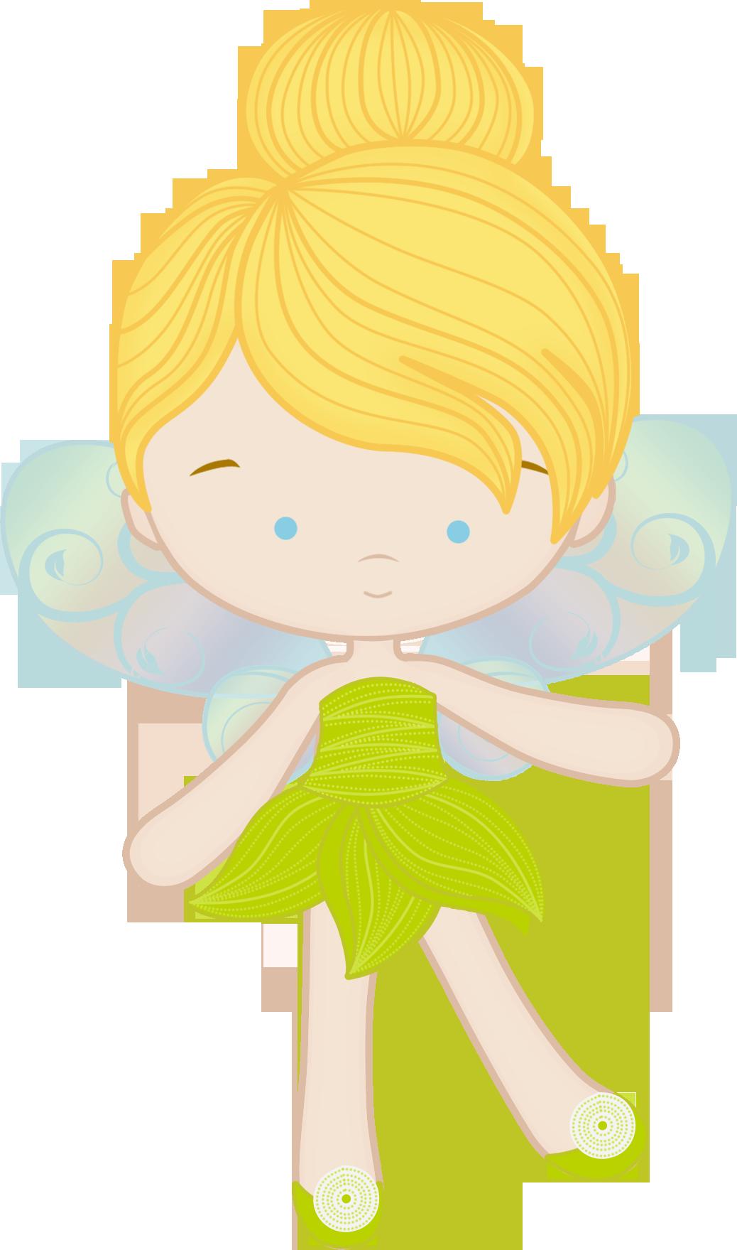 Princesas e pr ncipes. Clipart easter fairy