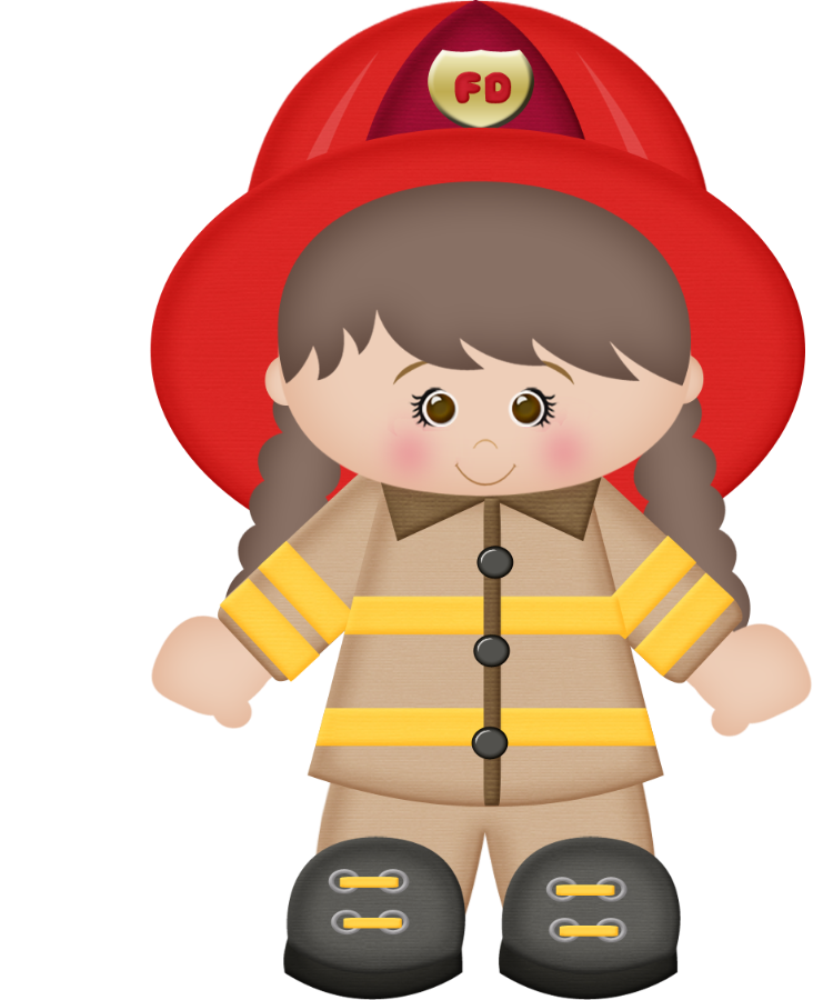 Minus say hello pol. Clipart boy firefighter