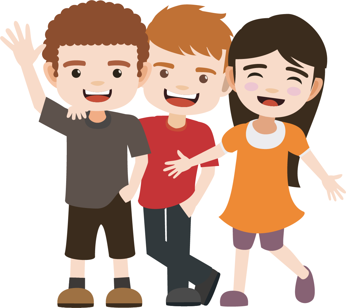 Friend clipart animated. Friendship clip art is