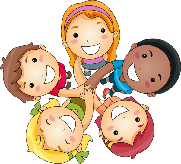 Personnages boys and girls. Poetry clipart child