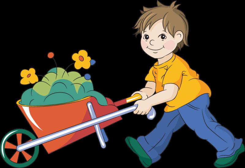 Gardening clipart children's. Children ourclipart pin