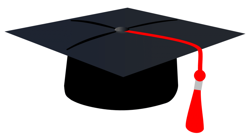Graduation cap vector png. Clipart free images toppng