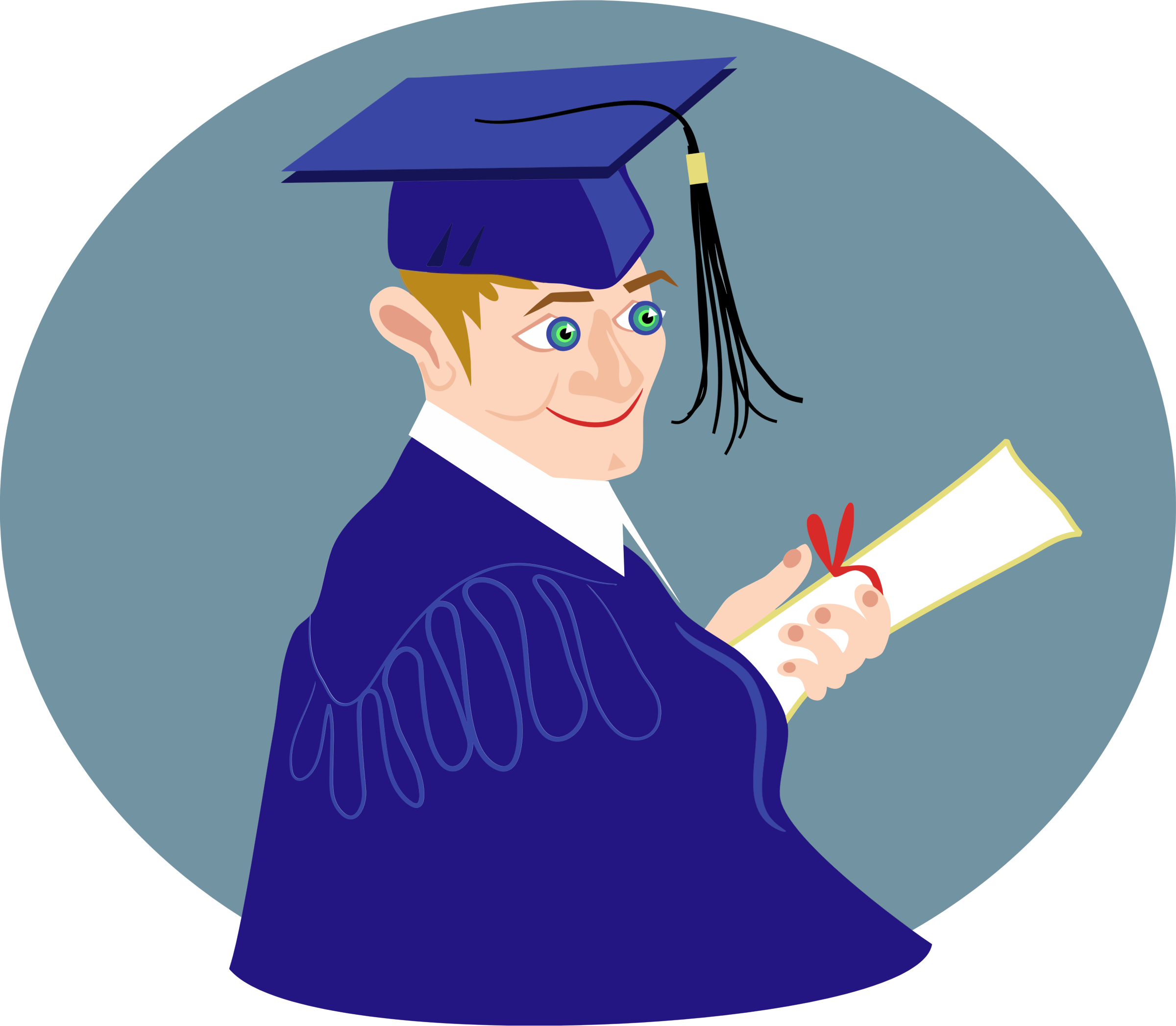 Boy big image png. People clipart graduation
