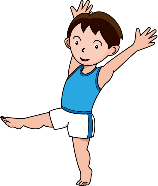 collection of boys. Jumping clipart energetic kid