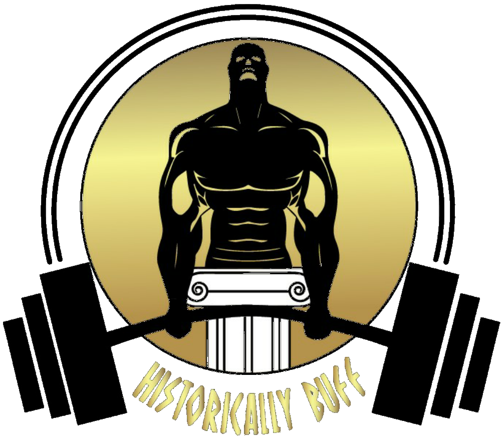 The logo tells you. Gym clipart buff