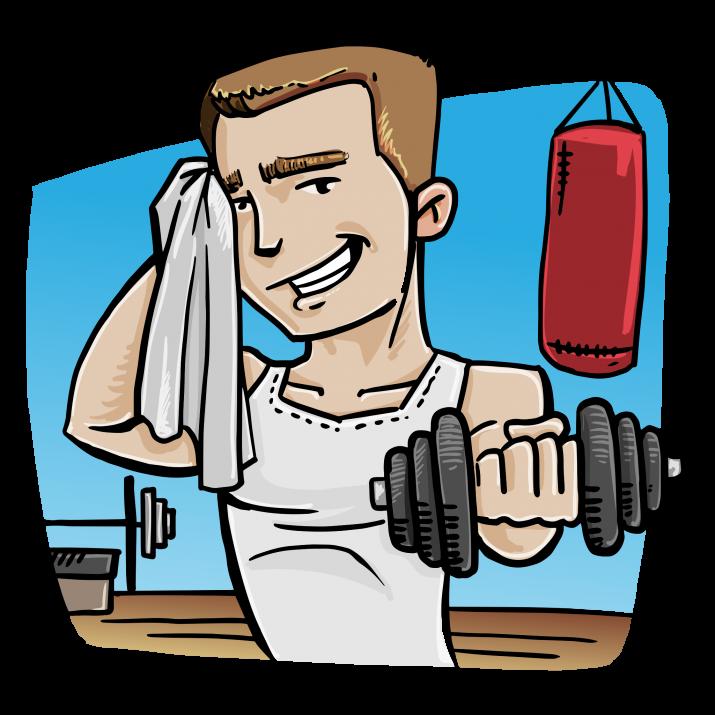 Png hd image free. Gym clipart gym boy