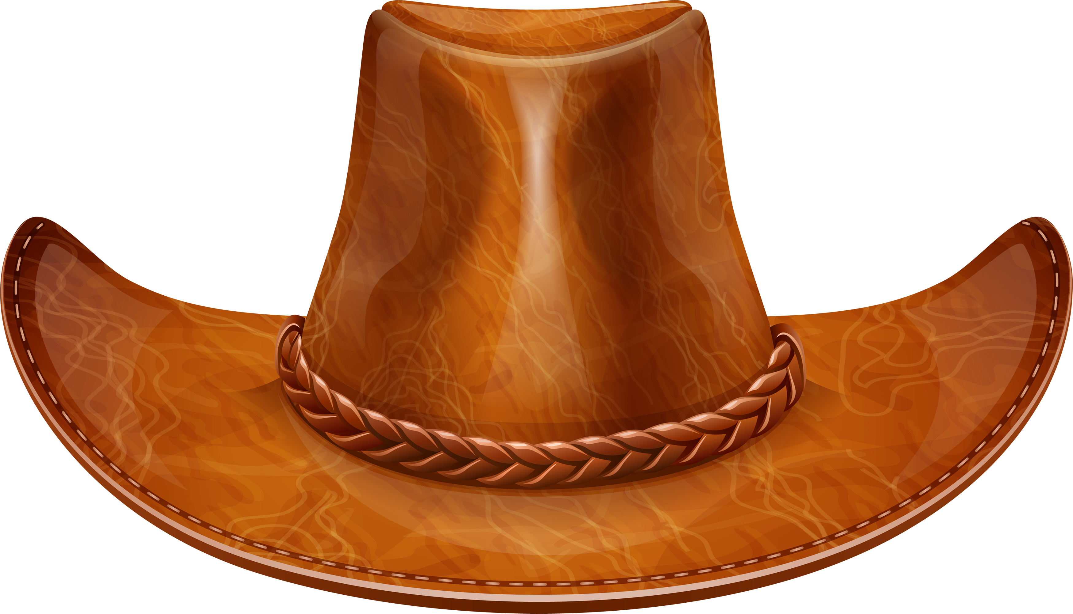 Brown cow boy hat. Dallas cowboys clipart stetson