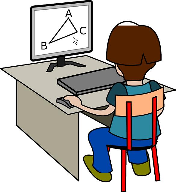 Computer clipart care. Vian public school charles