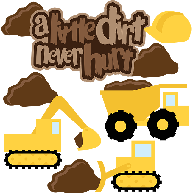 Dig clipart soil. A little dirt never