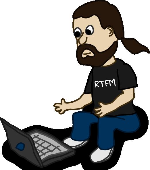 Laptop comic