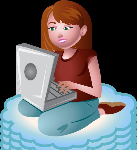 essay clipart writer woman #101051868