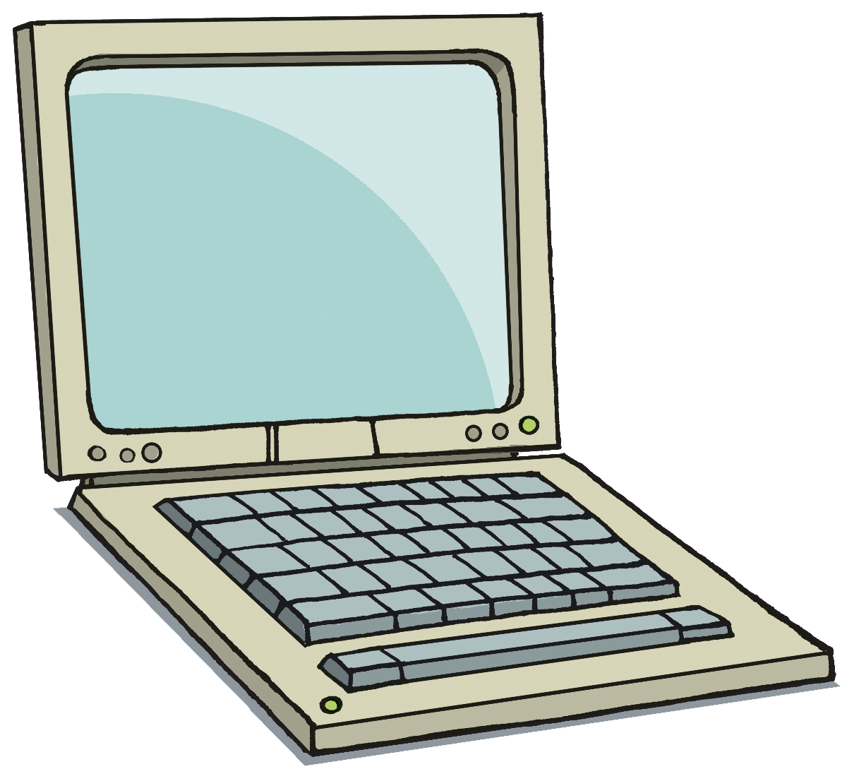 Technology clipart kid. Laptop clipartix