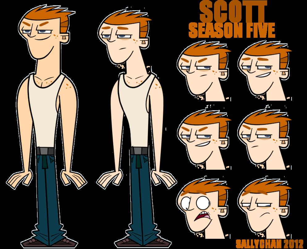 Tdri season five scott. Clipart boy malnourished