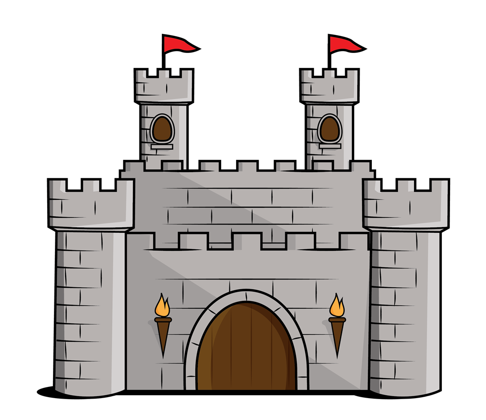 collection of middle. I clipart castle
