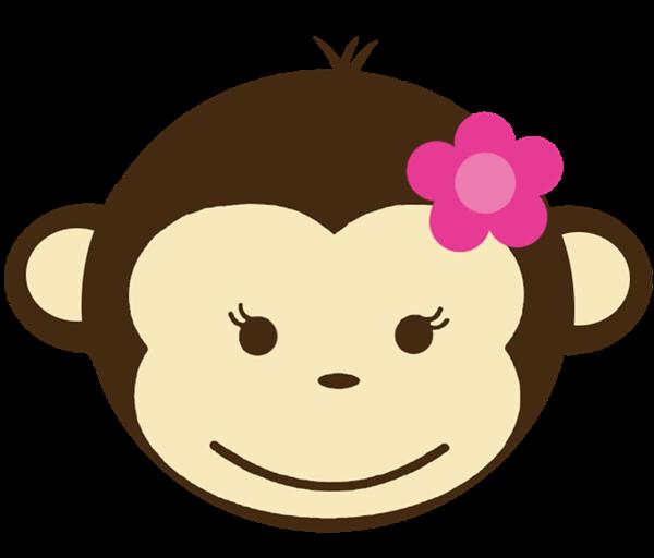 Girls clipart nose. Girl monkey clip art