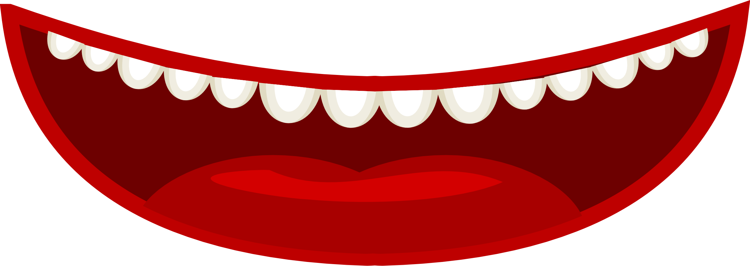 Monster clipart mouth open clipart.  collection of sad