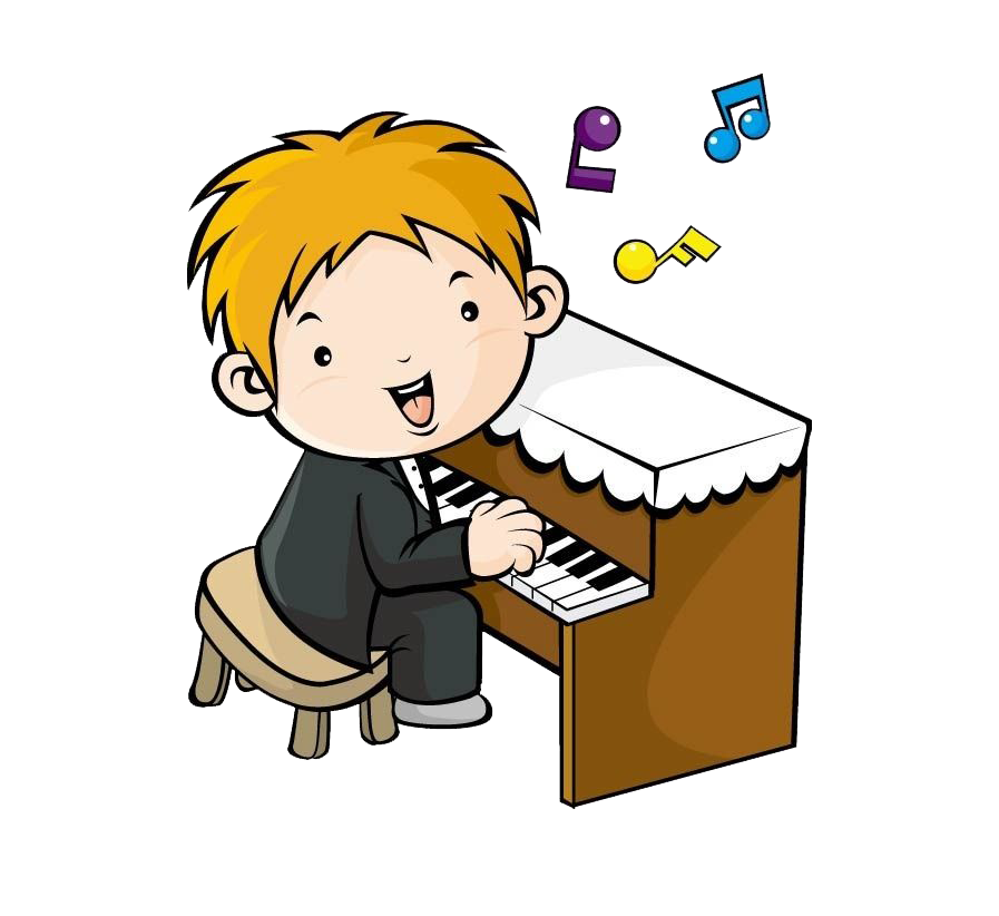 Music drawing musical note. Piano clipart piano lesson
