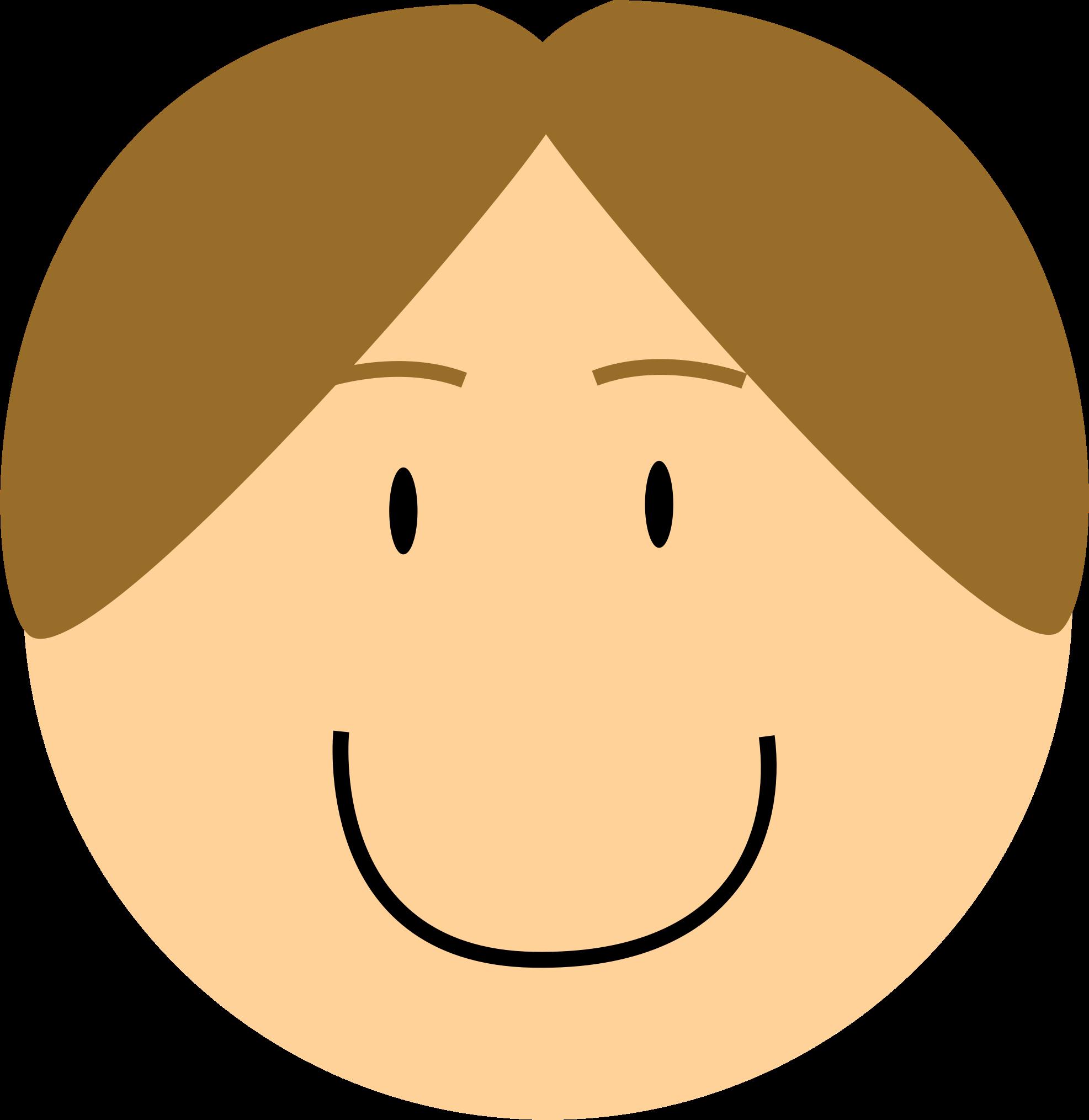 Clipart boy nose. Smiling big image png