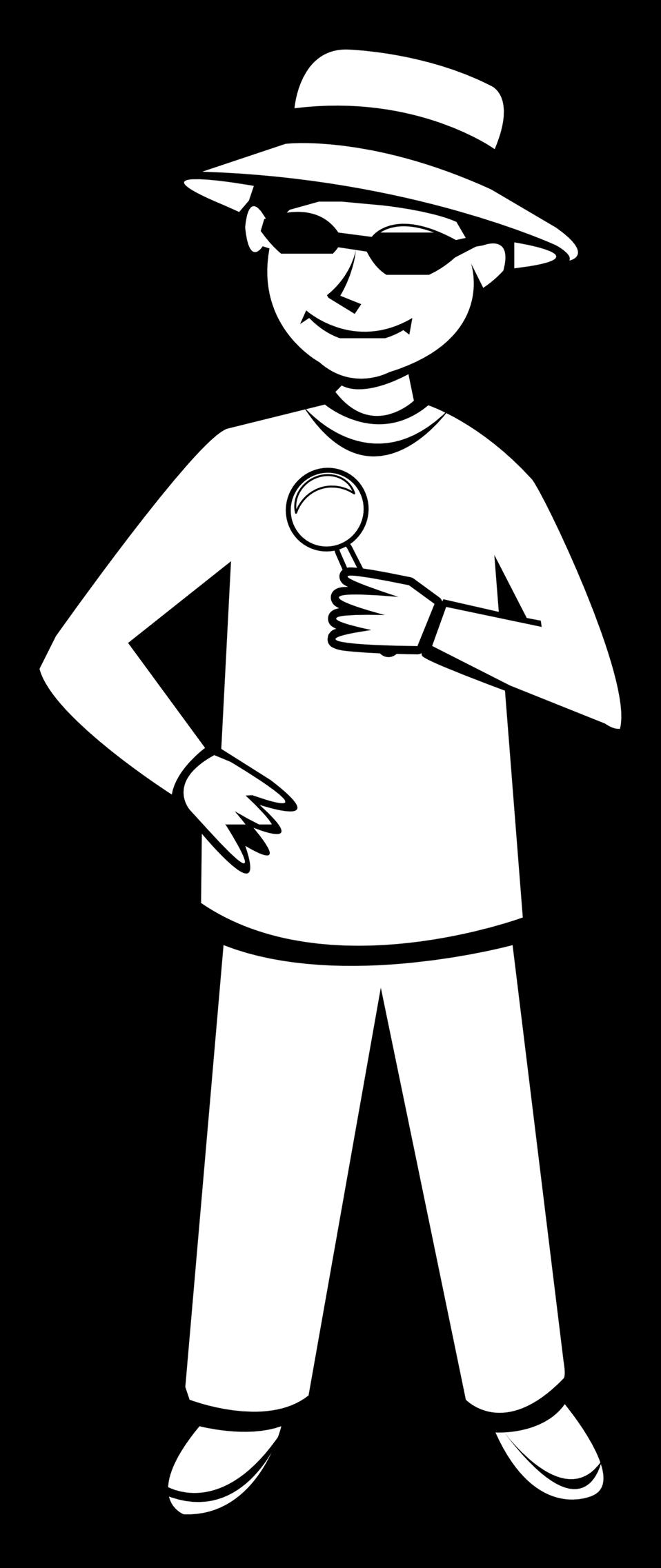 Public domain clip art. Clipart boy outline