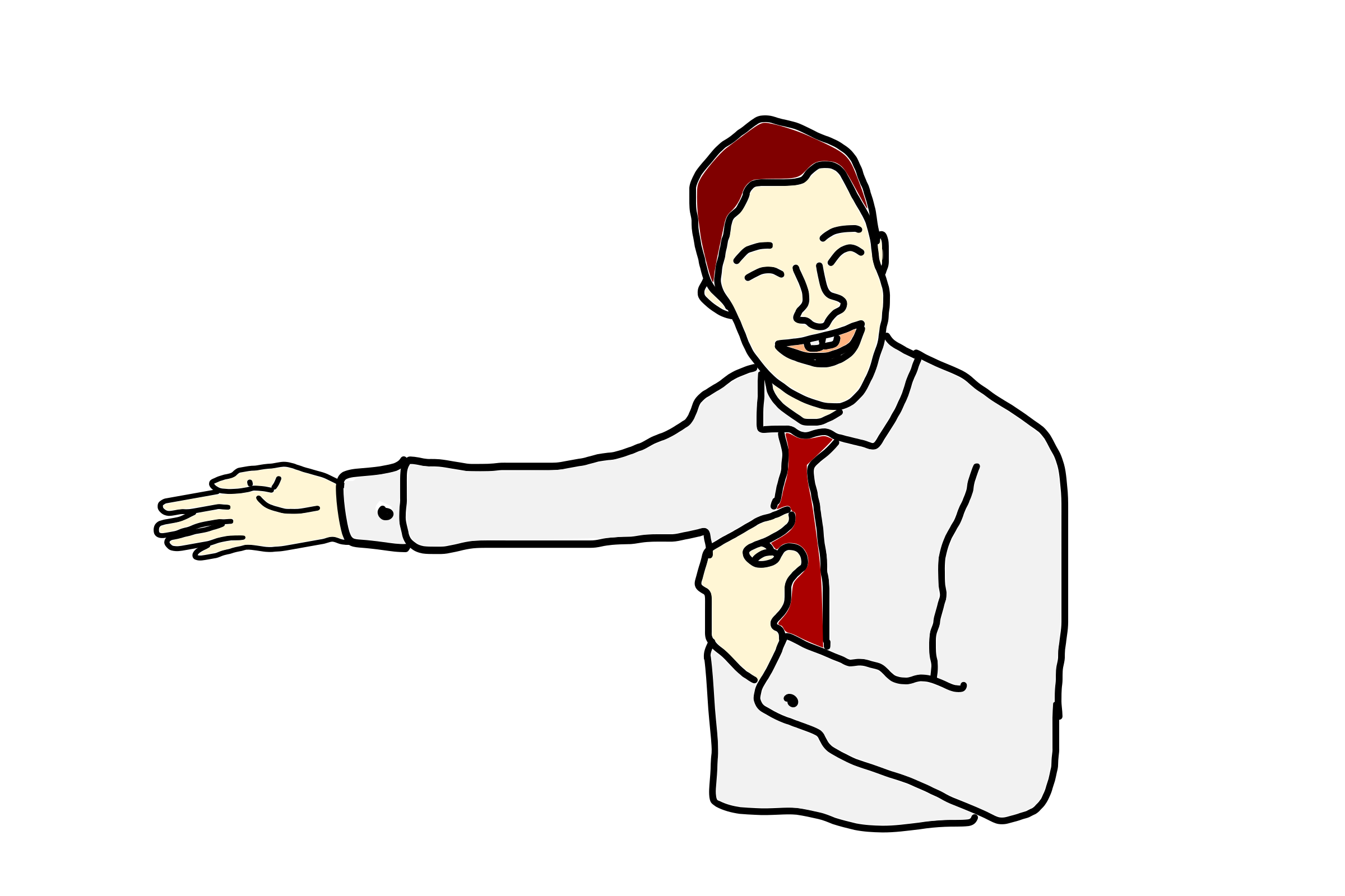Proud clipart self. Person pointing at himself