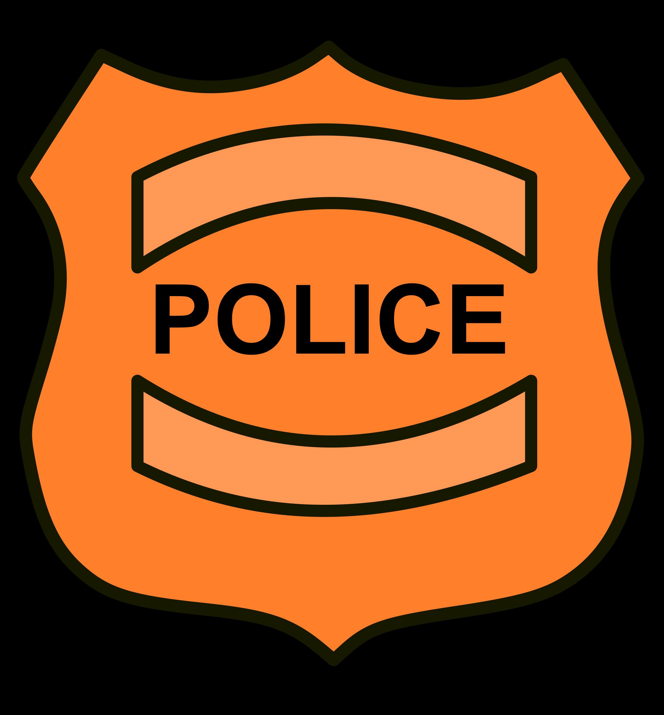 Cop badge jokingart com. Kids clipart police