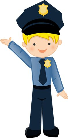 Kid clipart police officer.  best boys images