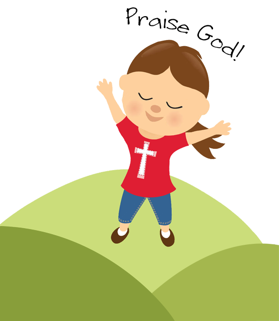 collection of and. Kids clipart prayer