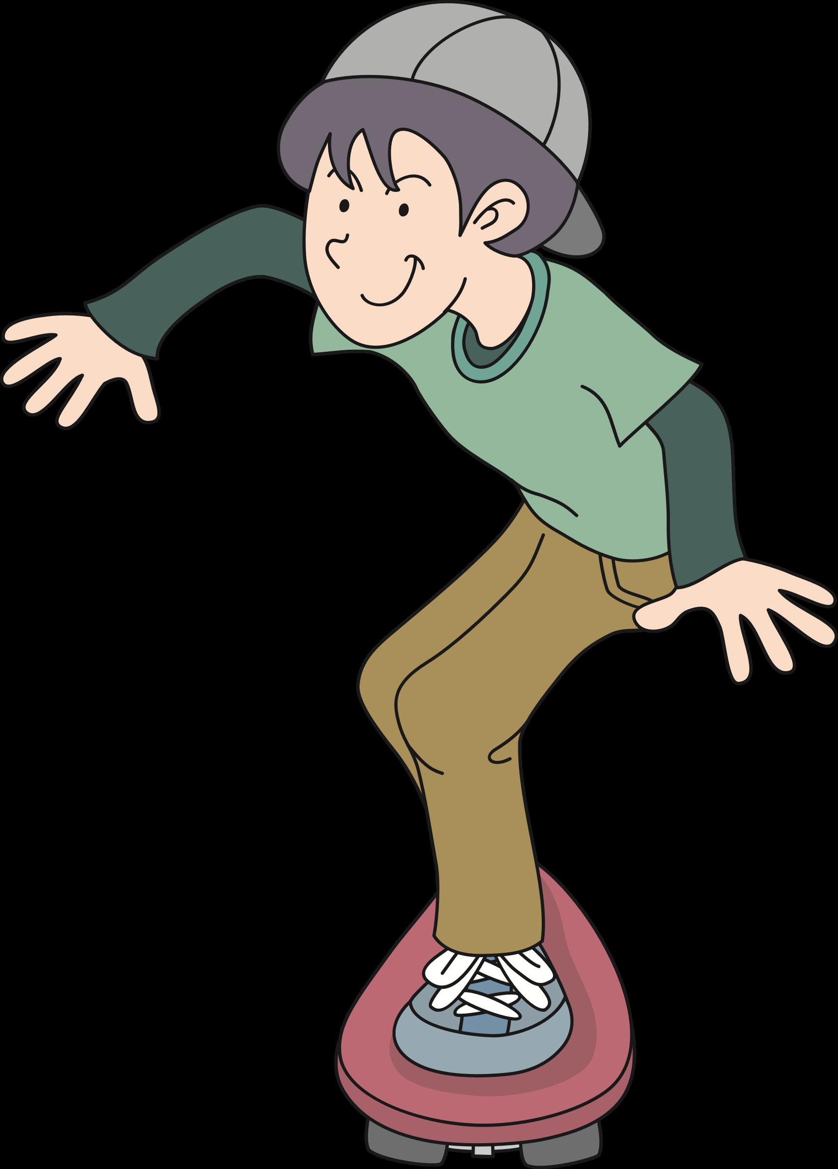 Clipart boy skateboard. Skateboarder big image png