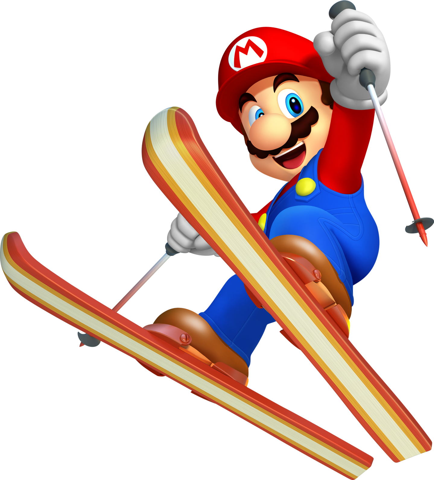 Olympics clipart ski. Mario png images free