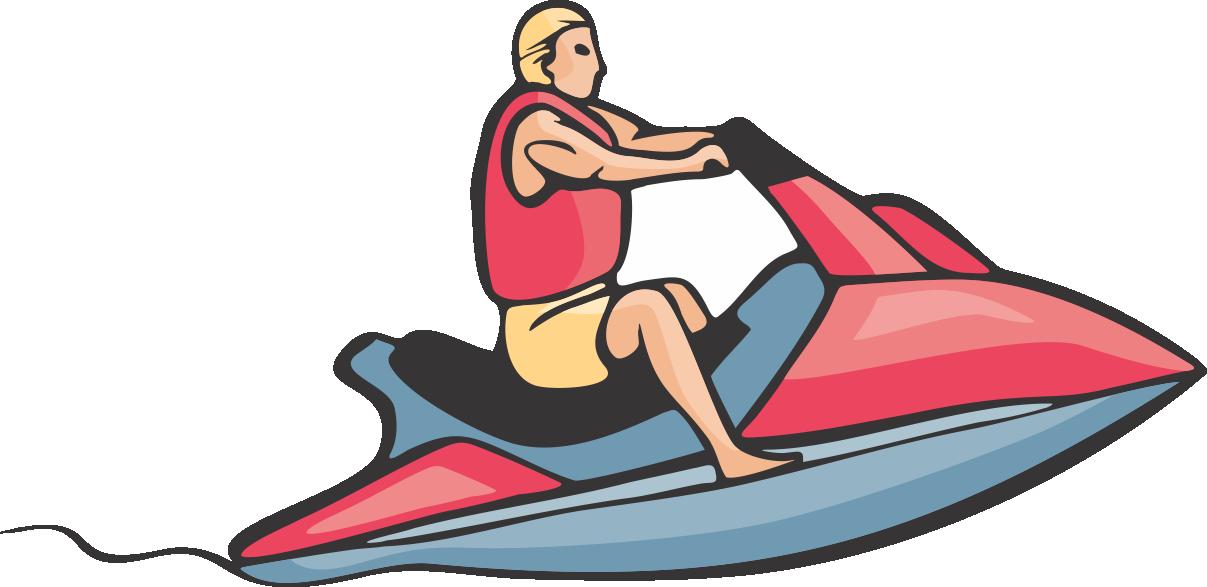 Lake clipart lake boat. Peachy design jet ski