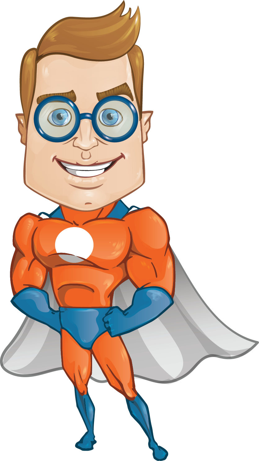 Microsoft clipart clip art. Superhero free to use