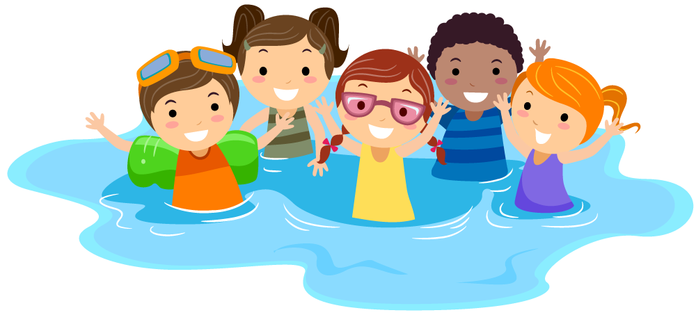 Image result for kids swimming clip art