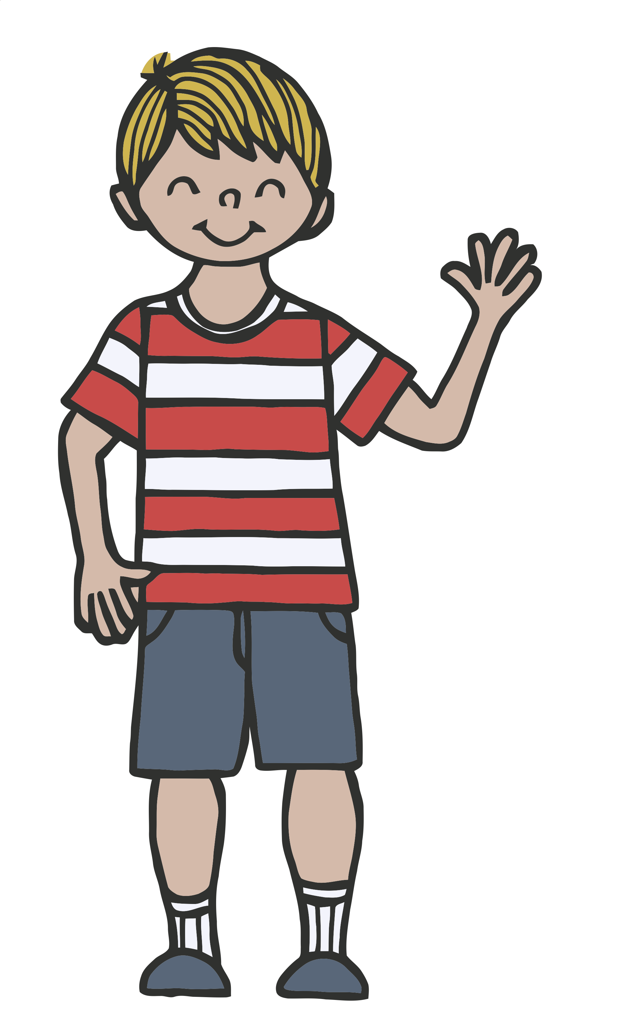 collection of goodbye. Teen clipart youth boy