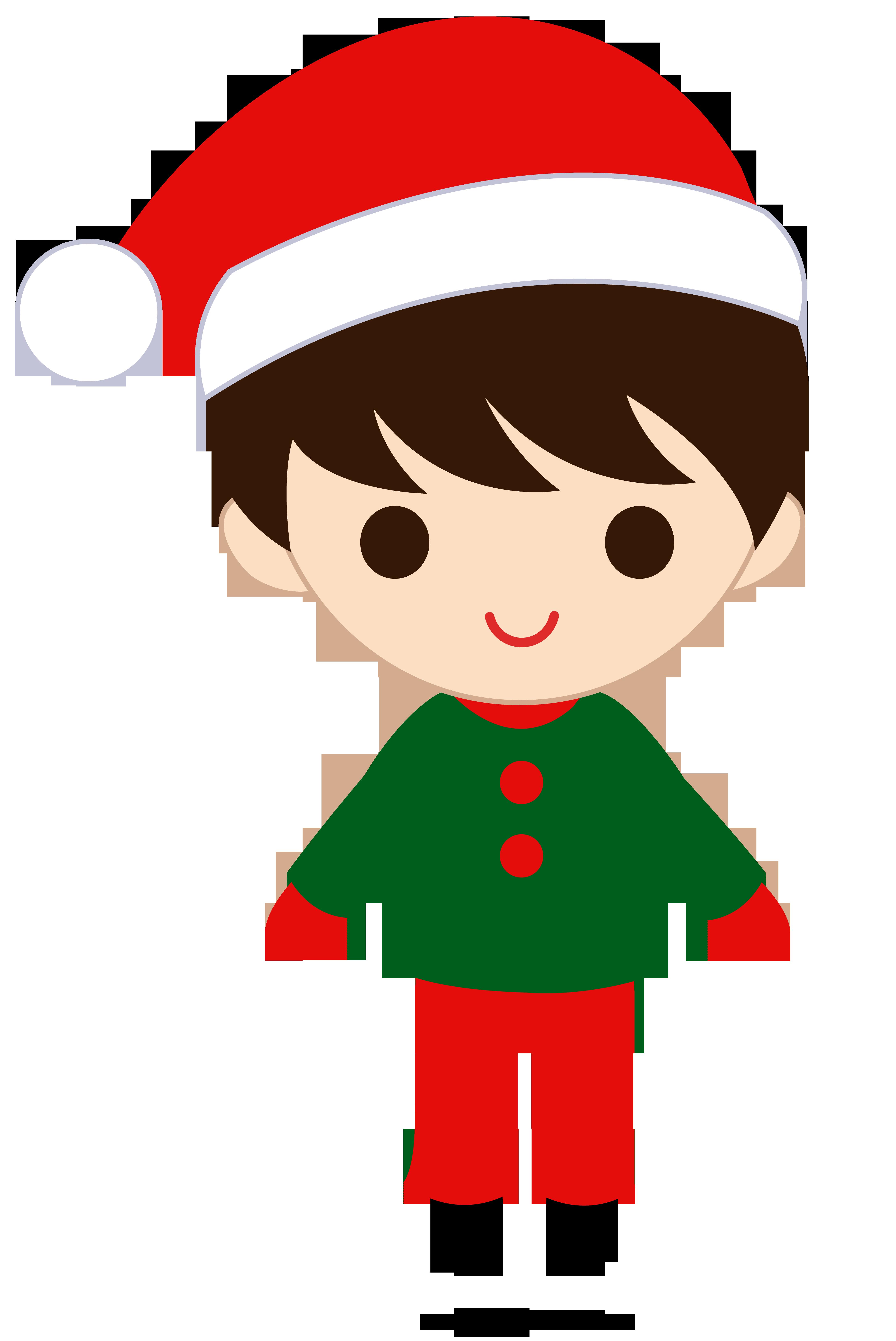 Christmas boy sweet clip. Kid clipart technology