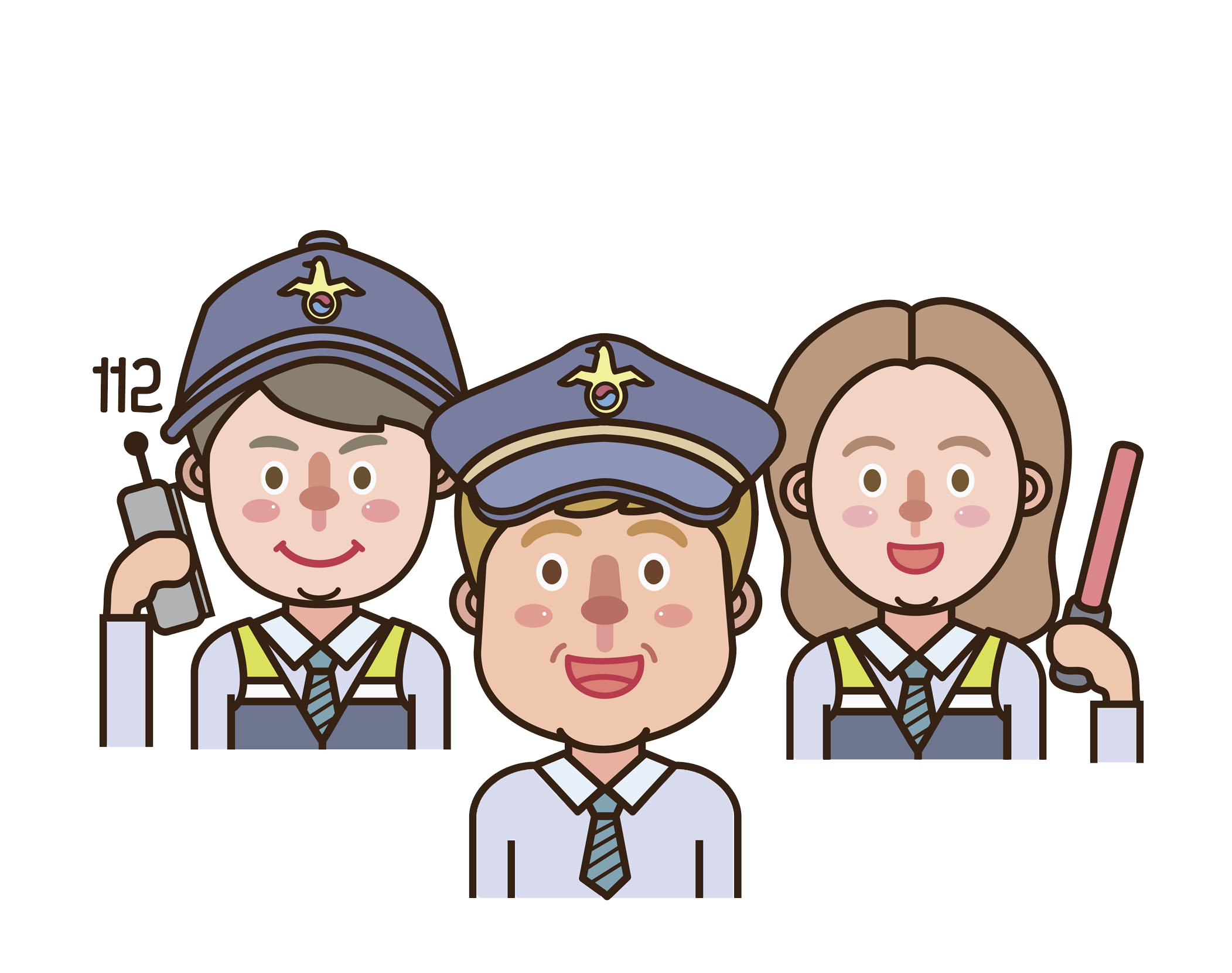 Human clipart community person. Uniform police officer support