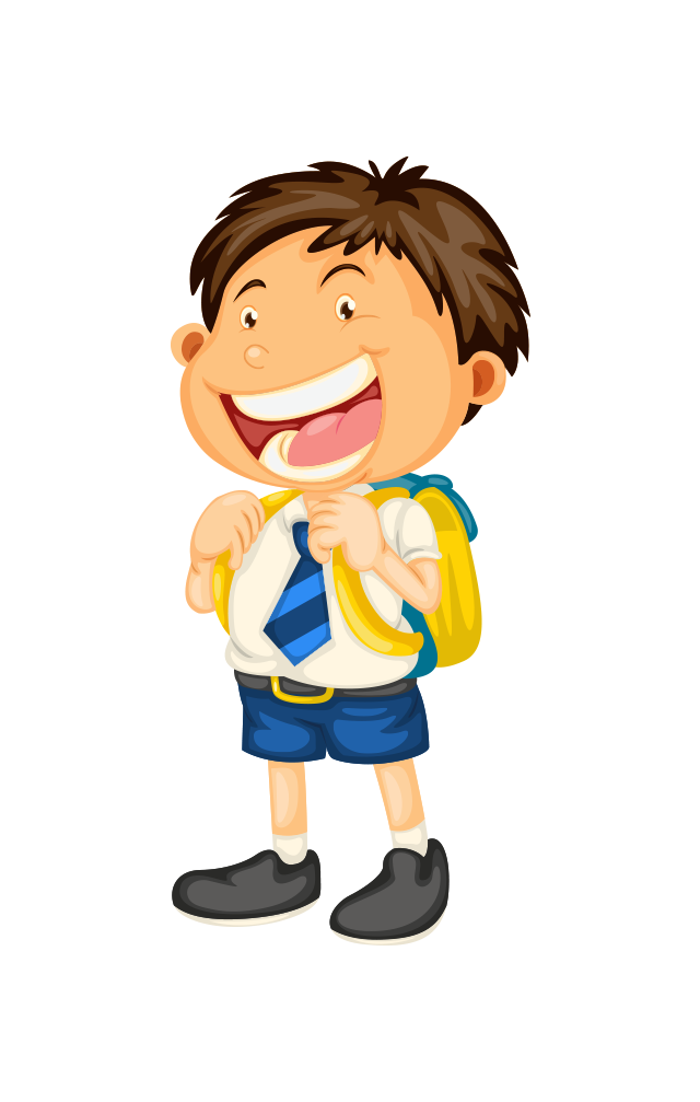 School uniform clip art. Clipart people student