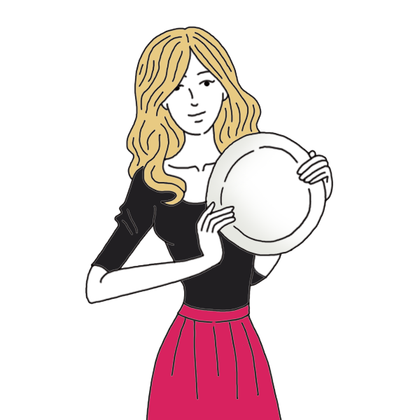 Dishes dream dictionary interpret. Maid clipart washing dish
