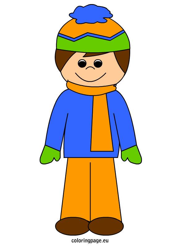 Winter clipart boy. In clip art library