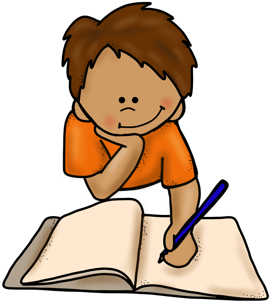 Writer clipart focused person. Como corregir la letra