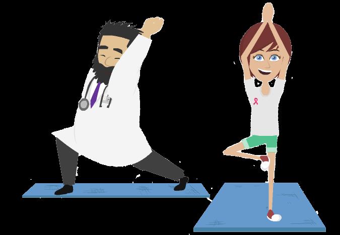 Yoga treat mesothelioma few. Therapy clipart therapeutic