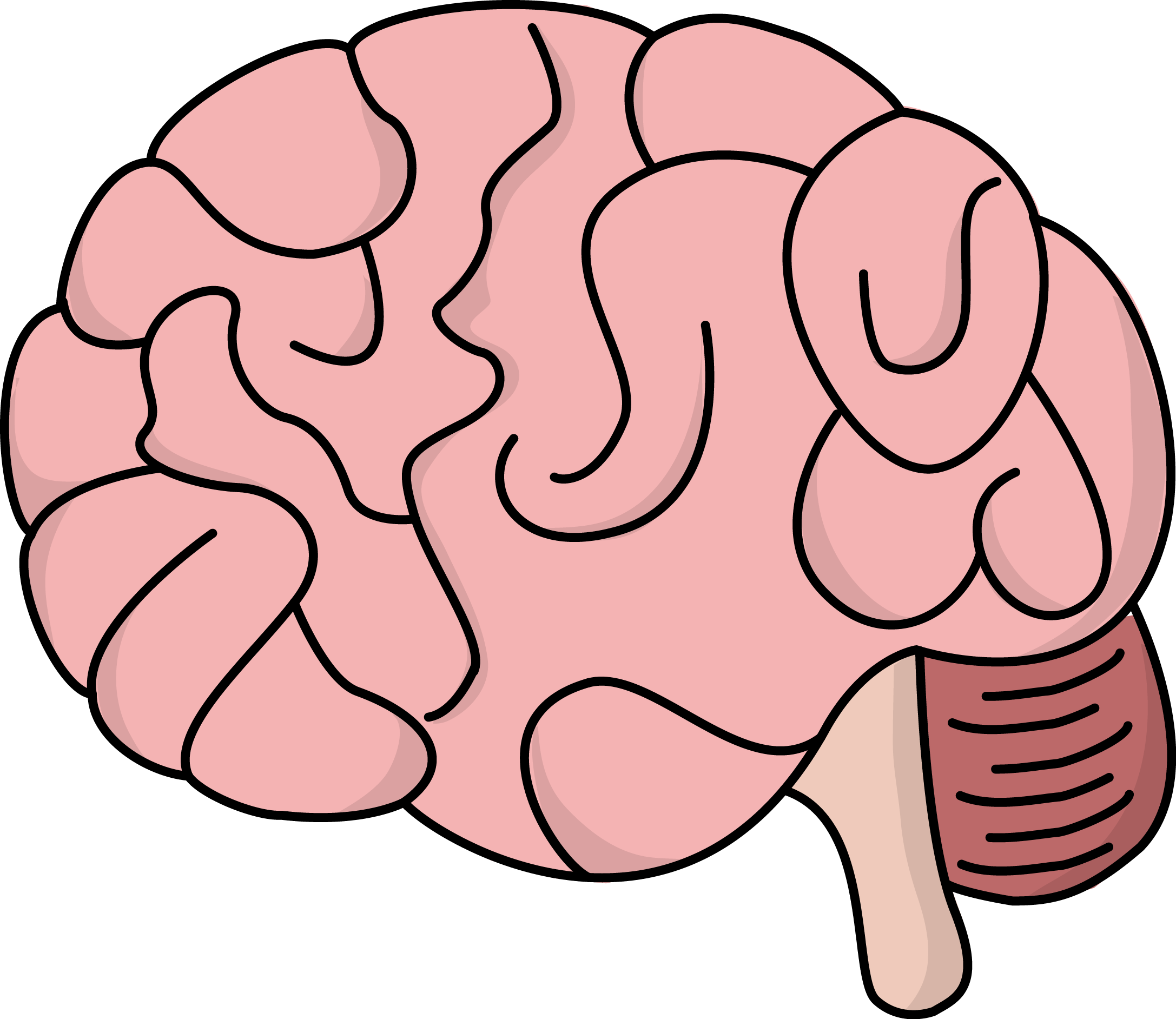 Thoughts clipart brain. Human at getdrawings com
