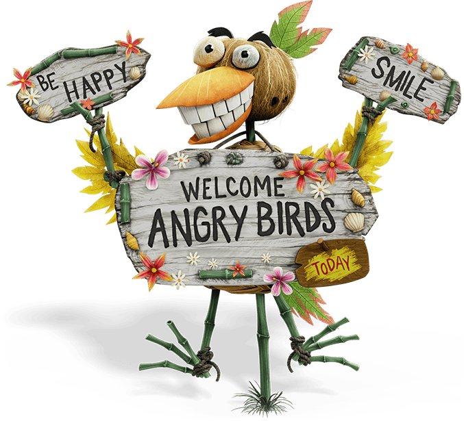 Angry birds movie fever. Teen clipart welcome party