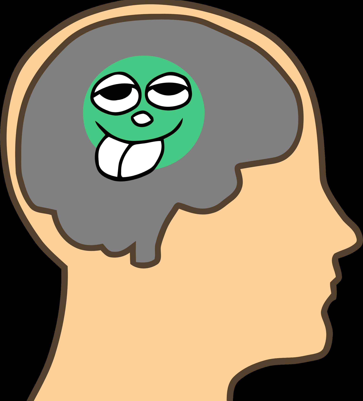 Pea sized fixed big. Clipart brain animated