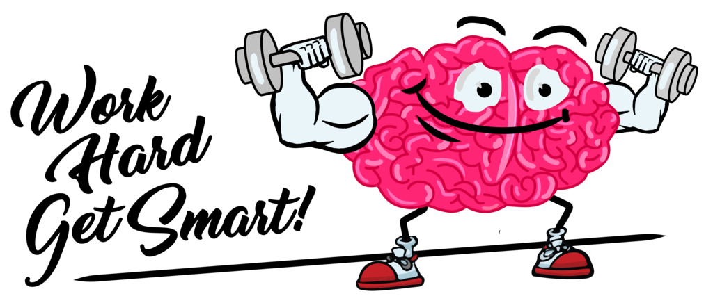Cartoon cheap a dumb. Psychology clipart smart brain