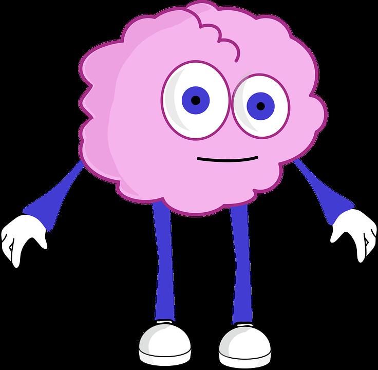 Exercise cliparts shop of. Clipart brain cartoon