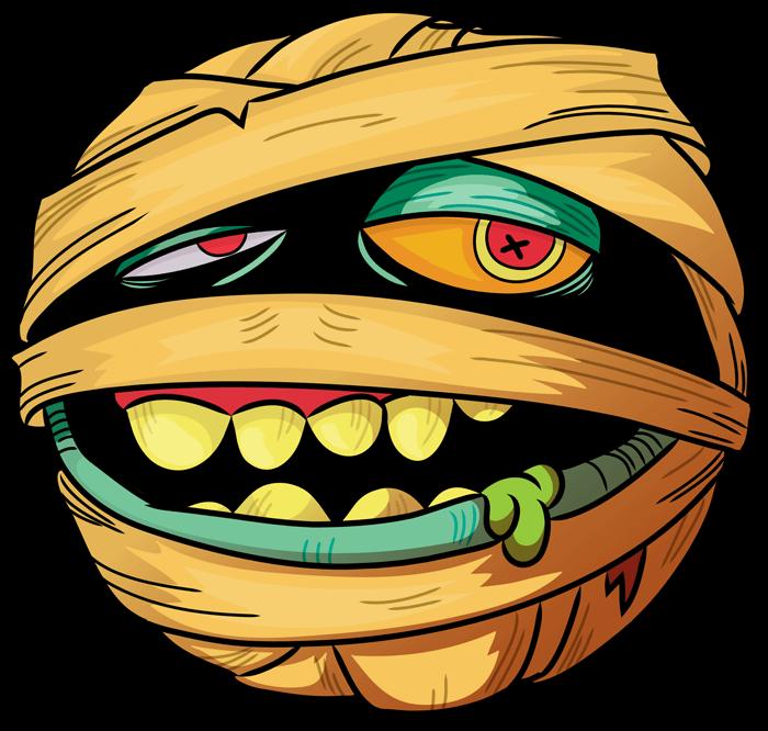 Madballs com welcome dustbrain. Eyeballs clipart mummy