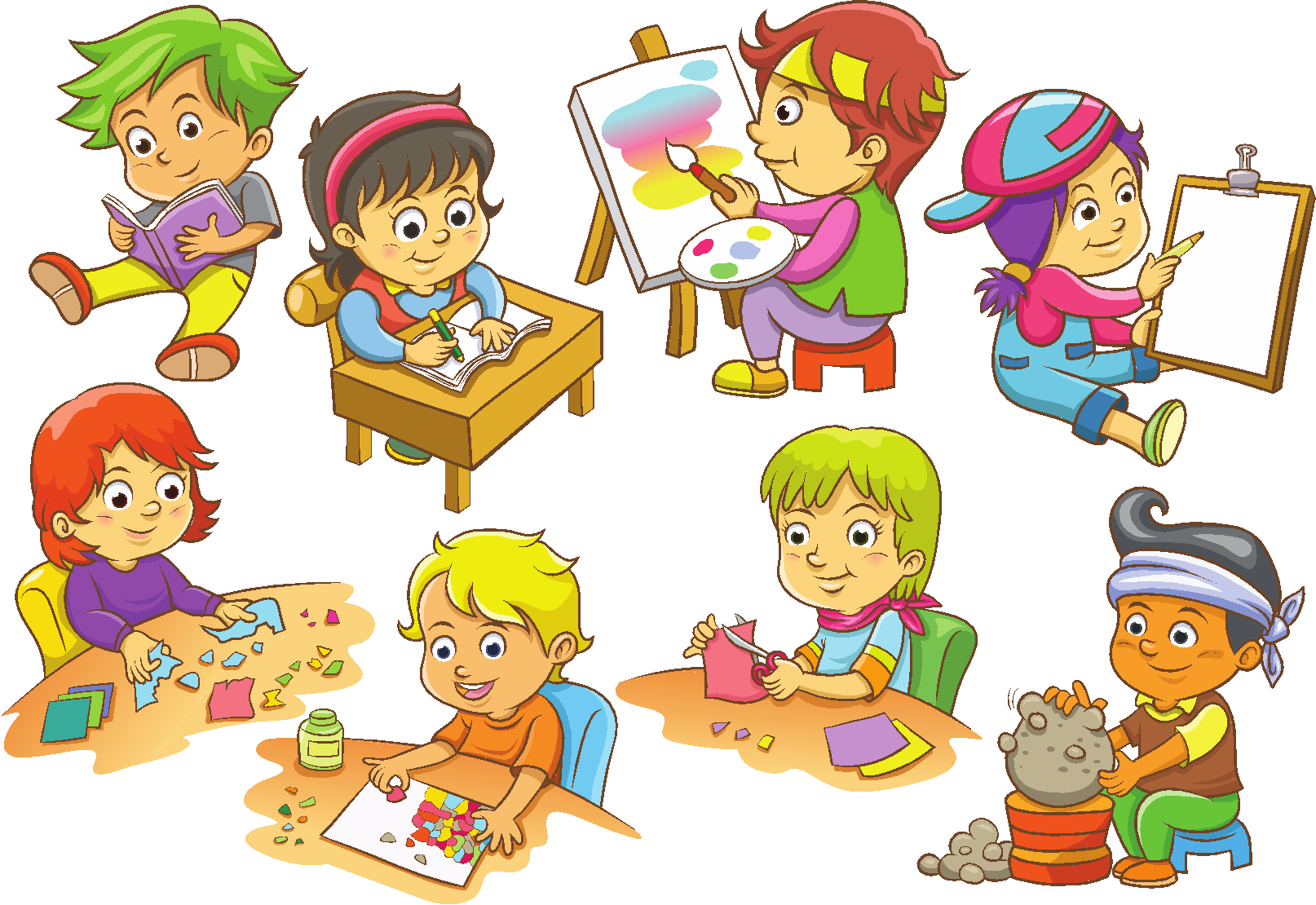 fun activities for. Playdough clipart nice kid