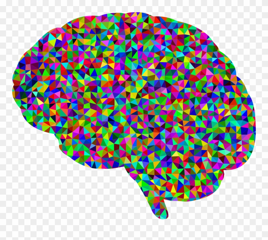 Clip art royalty free. Clipart brain colorful