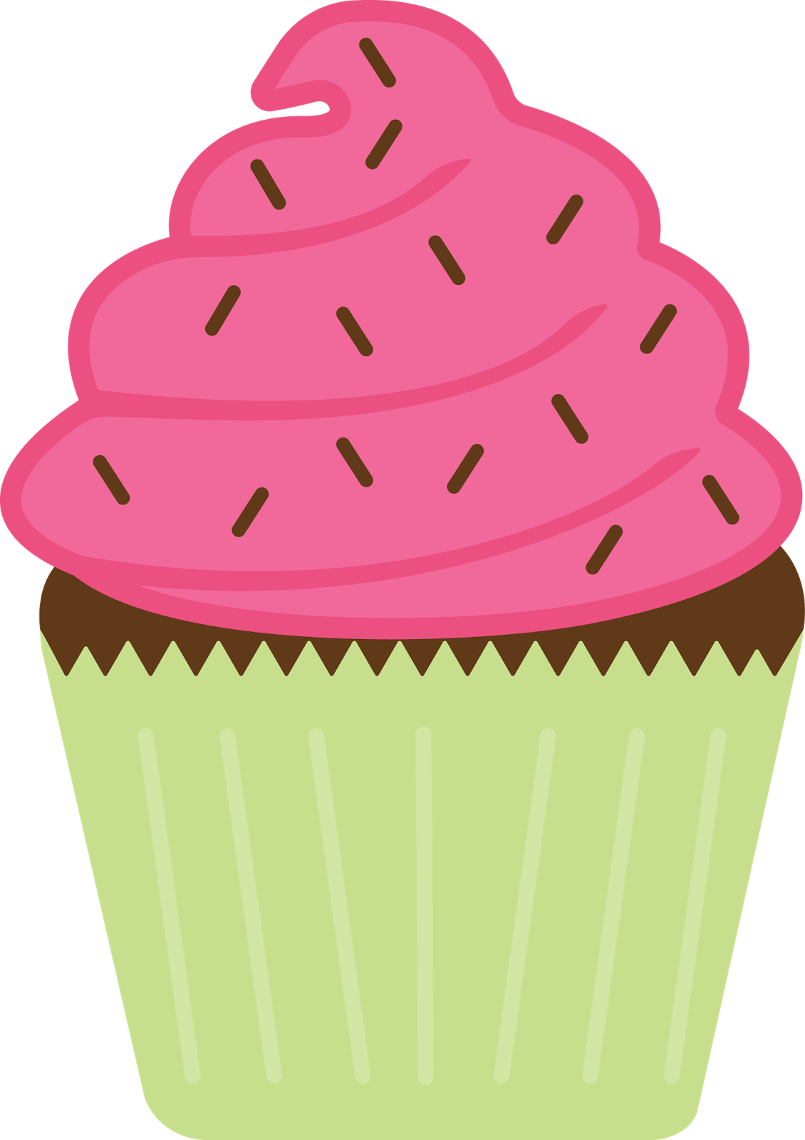 How to trace multi. Muffin clipart april
