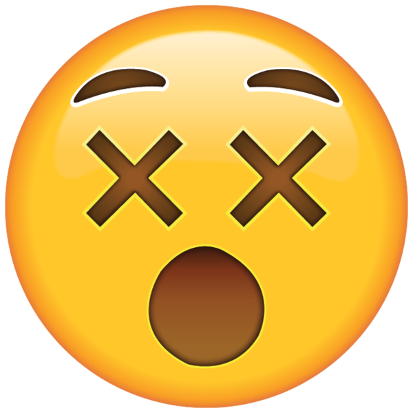Nervous clipart nervous emoji. Feeling dizzy from confusion